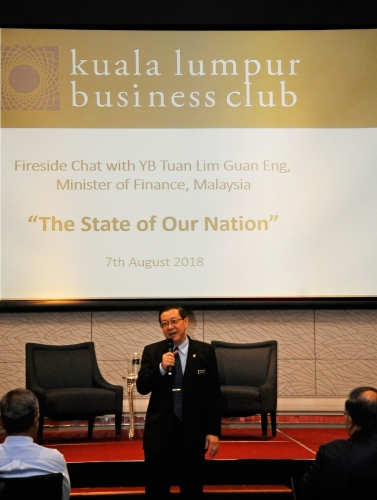 (07 August 2018) Fireside Chat with Lim Guan Eng - 38