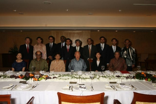 (11 June 2009) Lunch Meeting with Mr Lee Kuan Yew, Minister Mentor of Singapore - 1