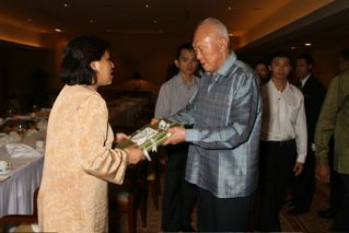 (11 June 2009) Lunch Meeting with Mr Lee Kuan Yew, Minister Mentor of Singapore - 10