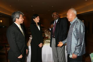 (11 June 2009) Lunch Meeting with Mr Lee Kuan Yew, Minister Mentor of Singapore - 12