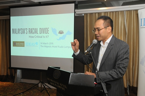 (14 March 2016) KLBC-IDEAS Roundtable Session - Malaysia s Racial Divide - 12