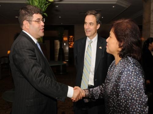 (18 May 2011) KLBC Dinner with US Deputy Secretary of Treasury - 1