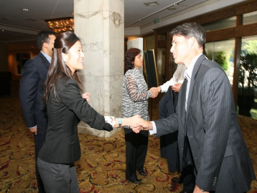 (21 May 2011) KLBC Lunch with US Assistant State Secretary - 1