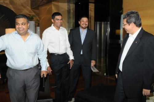 (21 May 2012) KLBC Fireside Chat with YB Dato  Saifuddin - 1