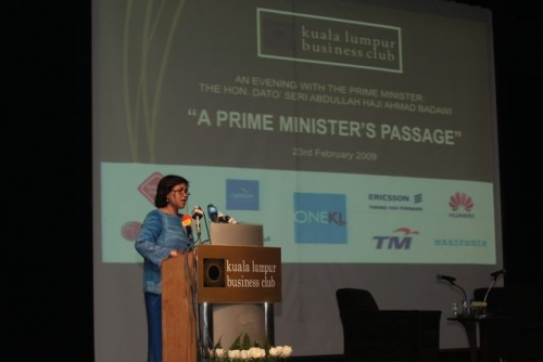 (23 February 2009) An Evening with the Prime Minister - 16