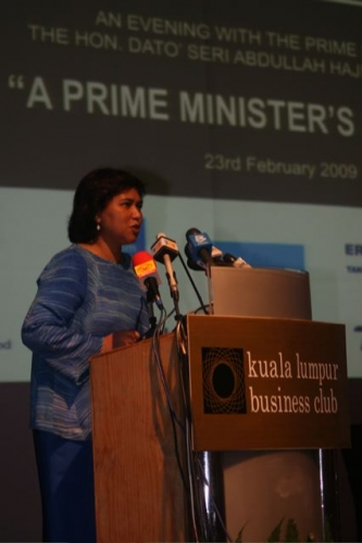 (23 February 2009) An Evening with the Prime Minister - 31
