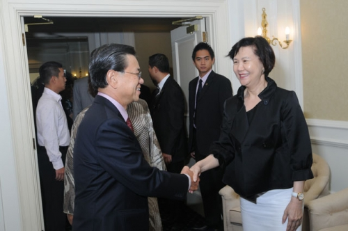 (23 March 2010) KLBC Luncheon with Singapore DPM and Minister of Home Affairs - 2