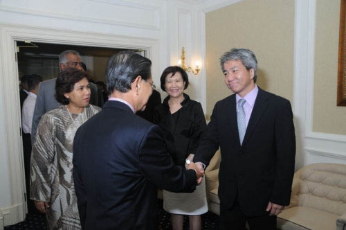 (23 March 2010) KLBC Luncheon with Singapore DPM and Minister of Home Affairs - 3