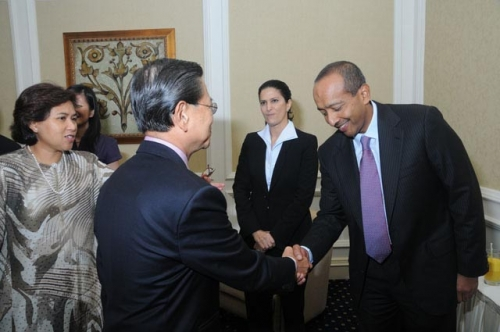 (23 March 2010) KLBC Luncheon with Singapore DPM and Minister of Home Affairs - 4