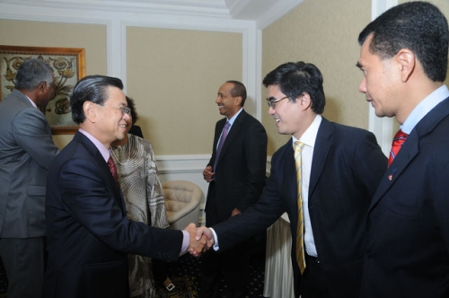(23 March 2010) KLBC Luncheon with Singapore DPM and Minister of Home Affairs - 5
