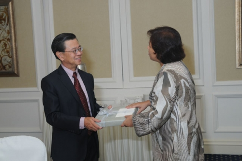 (23 March 2010) KLBC Luncheon with Singapore DPM and Minister of Home Affairs - 7