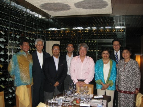 (24 April 2009) KLBC BoD Dinner-Meeting with President of Asia Society - 1