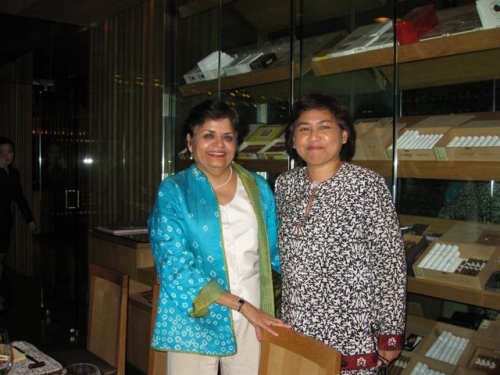 (24 April 2009) KLBC BoD Dinner-Meeting with President of Asia Society - 2
