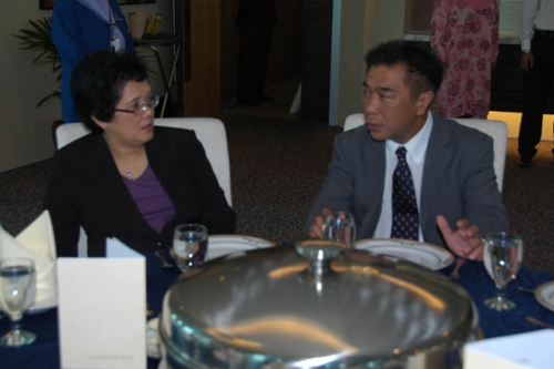 (24 March 2010) KLBC Lunch Meeting with Chairman of Securities Commission - 1