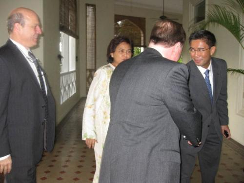 (26 November 2008) KLBC Fireside Chat With US Ambassador HE James Keith - 1