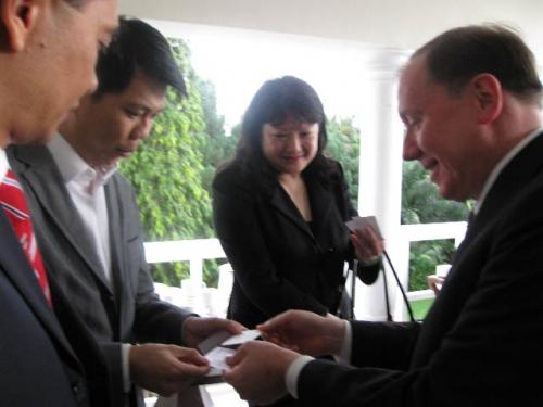 (26 November 2008) KLBC Fireside Chat With US Ambassador HE James Keith - 3