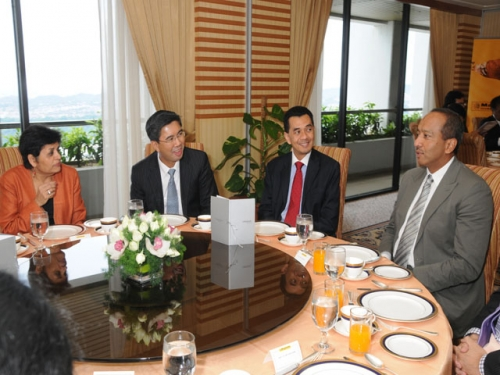 (29 March 2011) Luncheon in Honour of the Visit by Asia Society President - 12