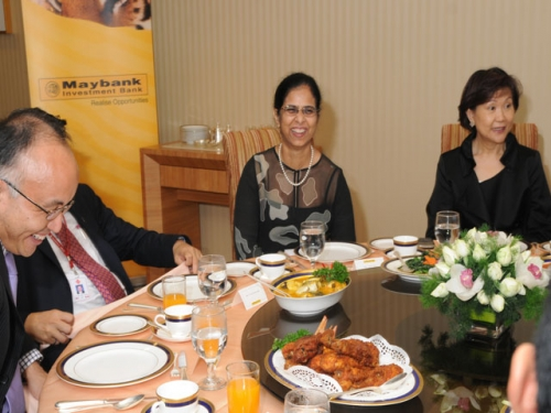 (29 March 2011) Luncheon in Honour of the Visit by Asia Society President - 13