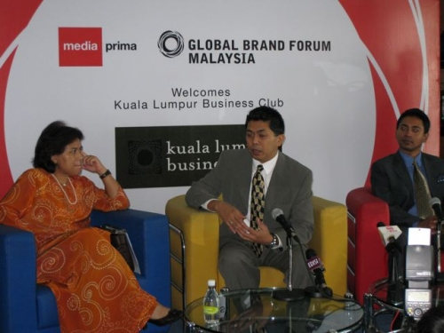 (29 October 2008) KLBC Breakfast Forum   Briefing on Global Brand Forum - 10