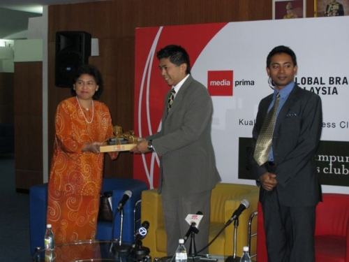 (29 October 2008) KLBC Breakfast Forum   Briefing on Global Brand Forum - 13