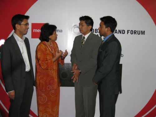 (29 October 2008) KLBC Breakfast Forum   Briefing on Global Brand Forum - 15