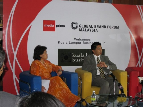 (29 October 2008) KLBC Breakfast Forum   Briefing on Global Brand Forum - 8