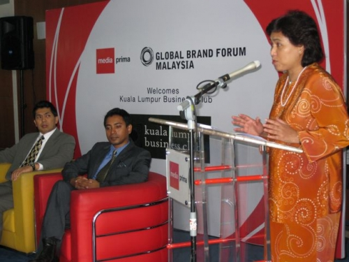 (29 October 2008) KLBC Breakfast Forum   Briefing on Global Brand Forum - 9