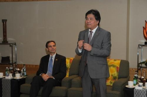 (30 May - 1 June 2012) Visit by US Senators John McCain and Joseph Liberman - 10