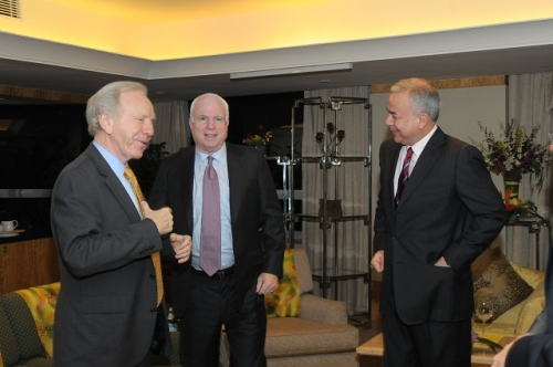 (30 May - 1 June 2012) Visit by US Senators John McCain and Joseph Liberman - 11