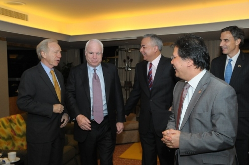 (30 May - 1 June 2012) Visit by US Senators John McCain and Joseph Liberman - 12