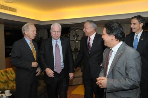 (30 May - 1 June 2012) Visit by US Senators John McCain and Joseph Liberman - 12