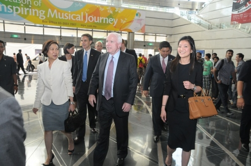 (30 May - 1 June 2012) Visit by US Senators John McCain and Joseph Liberman - 4