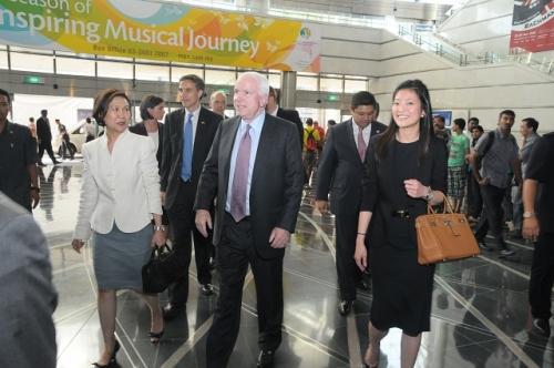 (30 May - 1 June 2012) Visit by US Senators John McCain and Joseph Liberman - 4