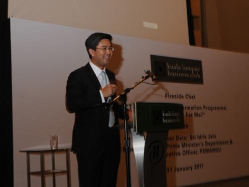 (31 January 2011) Fireside Chat with Dato  Sri Idris Jala - 12