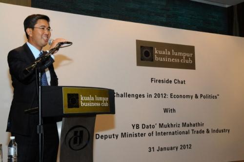 (31 January 2012) Fireside Chat with YB Dato  Mukhriz Mahathir - 10
