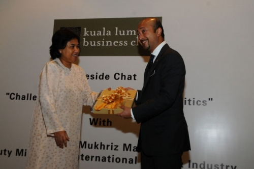 (31 January 2012) Fireside Chat with YB Dato  Mukhriz Mahathir - 15