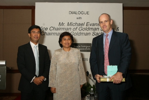 (3 July 2009) Dialogue with Vice Chairman of Goldman Sachs Asia - 13