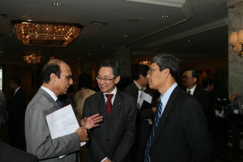(6 March 2009) Luncheon with Chairman of DBS Group Holdings - 1