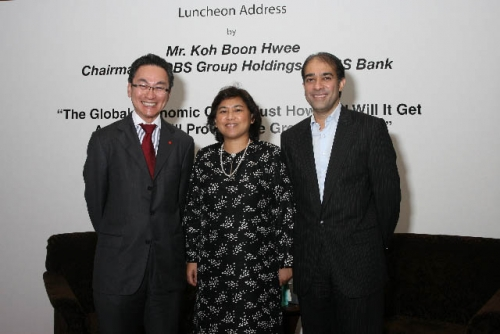 (6 March 2009) Luncheon with Chairman of DBS Group Holdings - 12