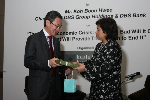 (6 March 2009) Luncheon with Chairman of DBS Group Holdings - 13