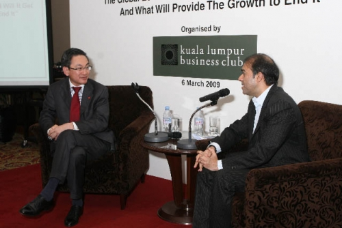 (6 March 2009) Luncheon with Chairman of DBS Group Holdings - 14
