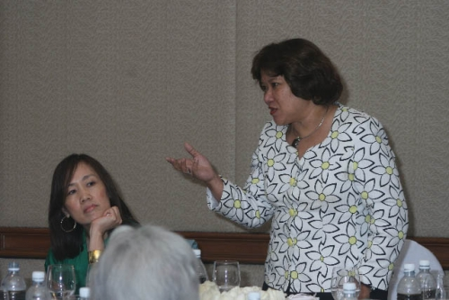 (6 March 2009) Luncheon with Chairman of DBS Group Holdings - 17