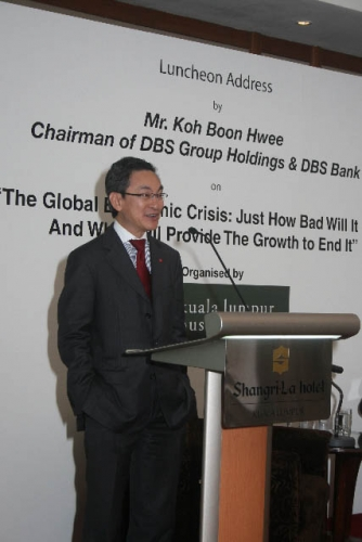 (6 March 2009) Luncheon with Chairman of DBS Group Holdings - 20