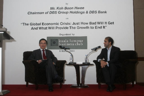 (6 March 2009) Luncheon with Chairman of DBS Group Holdings - 21