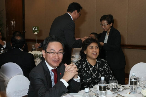 (6 March 2009) Luncheon with Chairman of DBS Group Holdings - 25