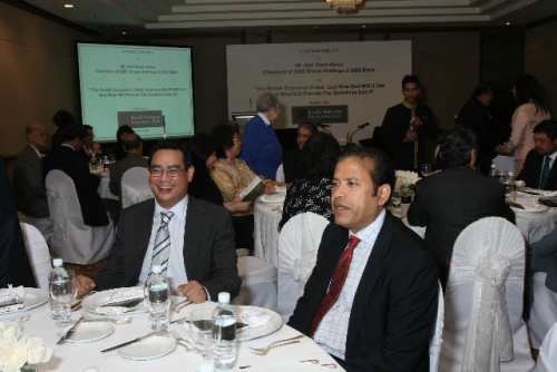 (6 March 2009) Luncheon with Chairman of DBS Group Holdings - 27