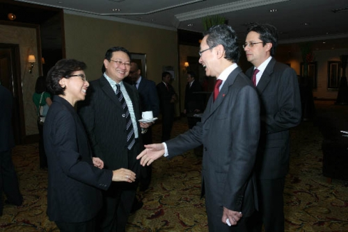 (6 March 2009) Luncheon with Chairman of DBS Group Holdings - 3