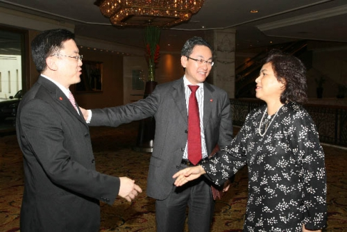 (6 March 2009) Luncheon with Chairman of DBS Group Holdings - 5
