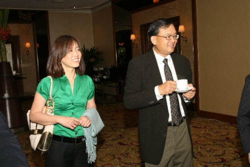 (6 March 2009) Luncheon with Chairman of DBS Group Holdings - 6