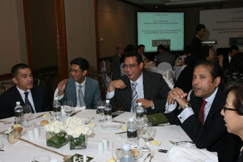 (6 March 2009) Luncheon with Chairman of DBS Group Holdings - 7